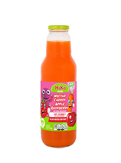 CARROT-APPLE-RASPBERRY NECTAR