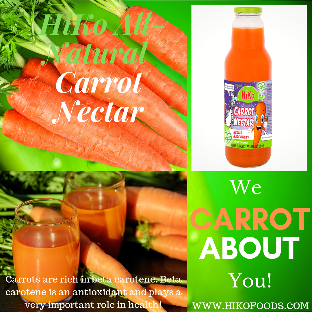 4.HiKo New Final All Natural Carrot Nectar