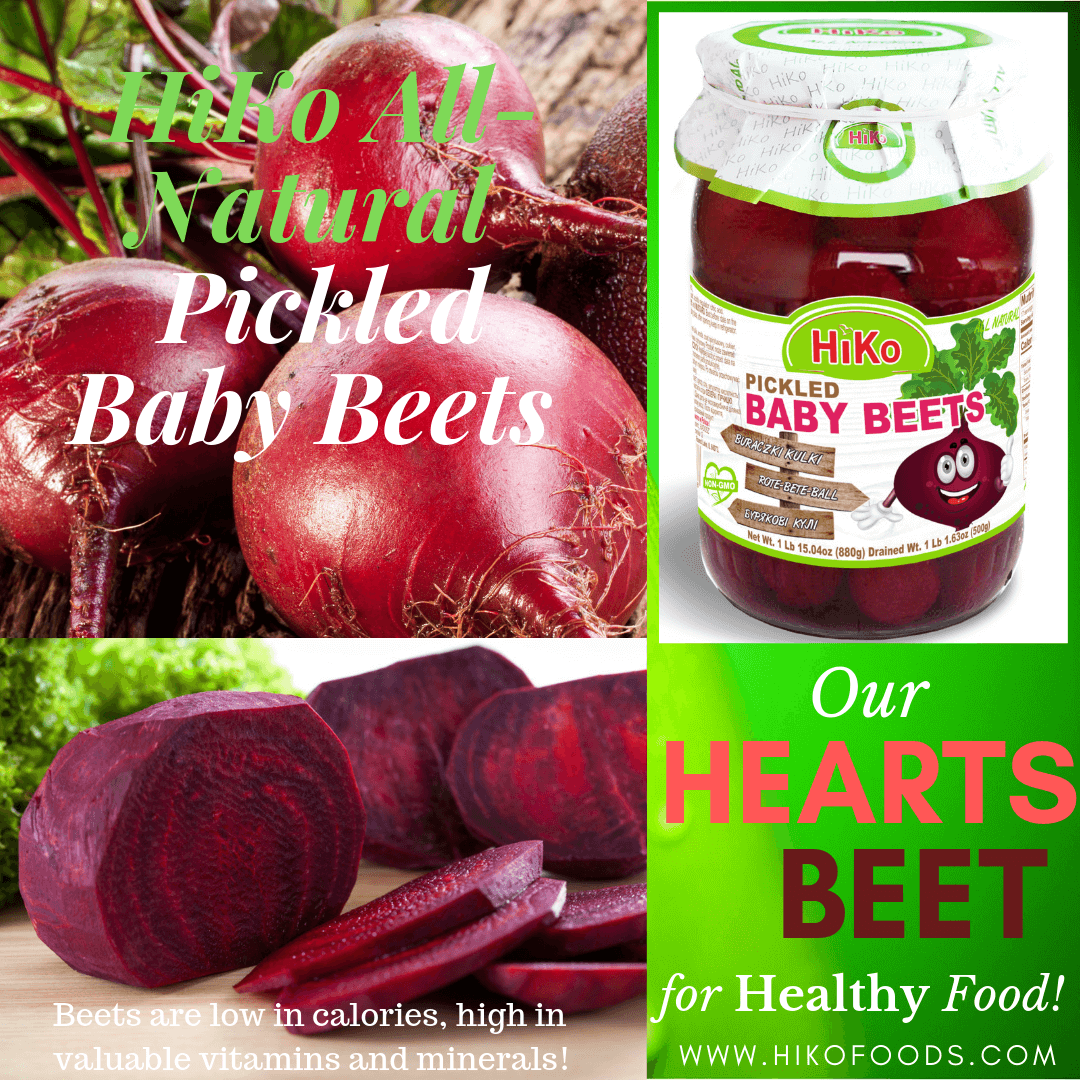 6.HiKo All Natural Pickled Baby Beets